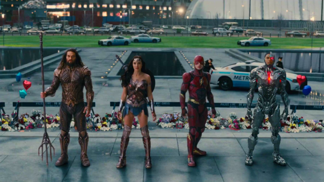 Here's the epic new trailer for Justice League