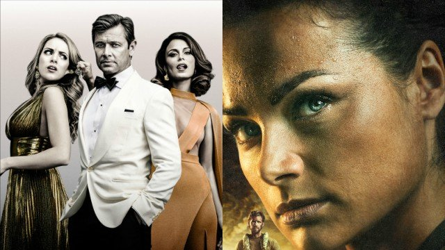 The CW Releases Key Art for Dynasty and Valor