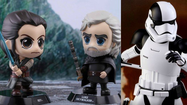 First Star Wars: The Last Jedi Hot Toys and Cosbaby Figures