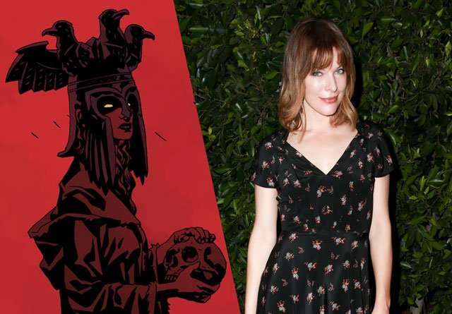 Milla Jovovich to Play the Blood Queen in Hellboy Reboot!