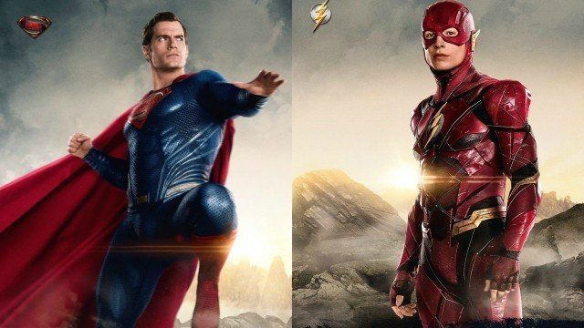 New Justice League Promo Photos Featuring Superman and The Flash