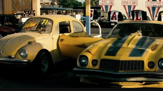 Bumblebee is a VW Bug Again in Set Photos - SuperHeroHype