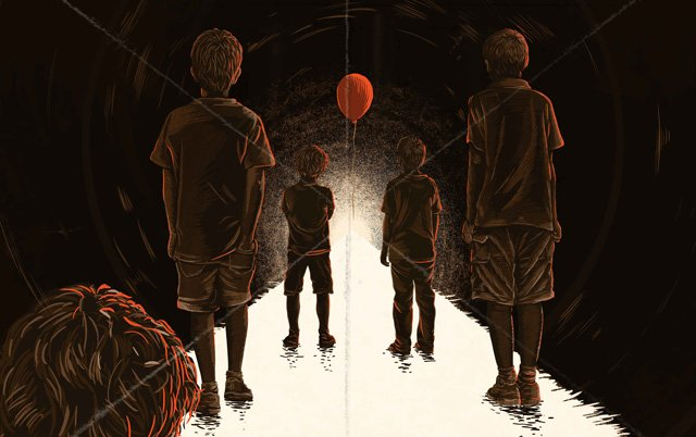 Exclusive IT Movie Art from Gallery1988