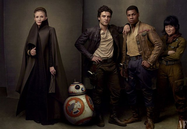 New Star Wars: Episode IX Writer and Boyega on Carrie Fisher in Last Jedi