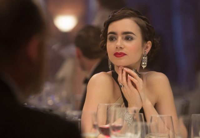 Lily Collins has joined Nicholas Hoult in the upcoming biopic Tolkien