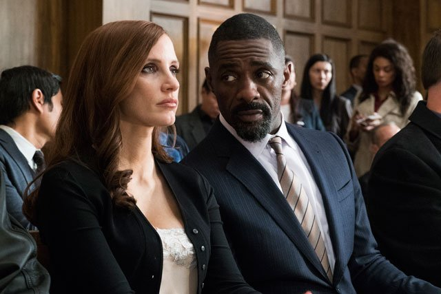 The New Molly's Game Trailer Featuring Chastain and Elba