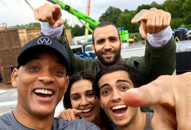 Aladdin Filming Begins as the First Set Photo is Revealed