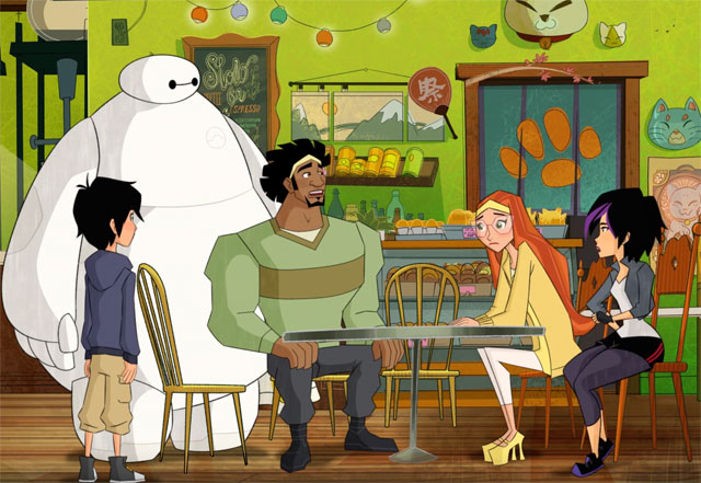 Big Hero 6 Series Clip Has Breakfast With the Team
