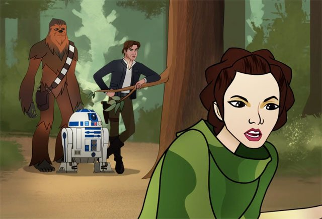 Star Wars Forces of Destiny Trailer for the Half-Hour Specials