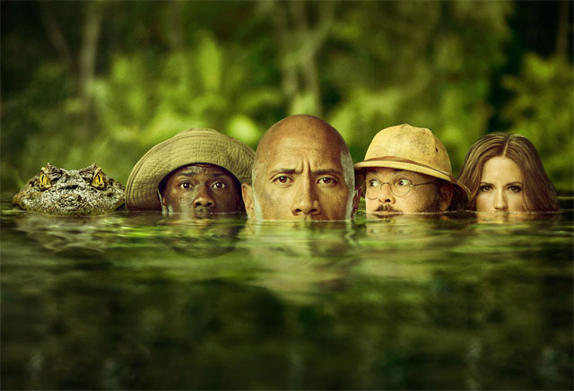 New Jumanji: Welcome to the Jungle Poster Emerges