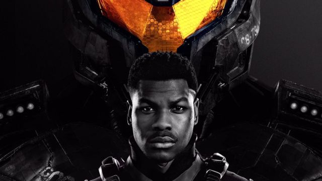 John Boyega Suits Up with a Jaeger in Pacific Rim Uprising Poster