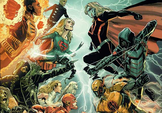 Crisis on Earth-X is the Title for The CW November Crossover