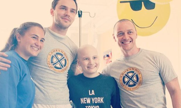 X-Men: Dark Phoenix Cast Visit the Montreal Children's Hospital