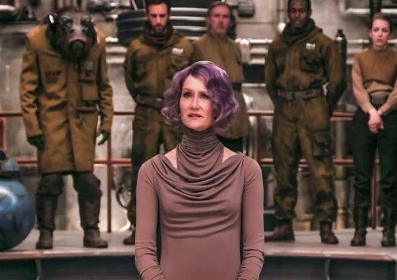 Amilyn Holdo: New Look at Laura Dern's Last Jedi Character