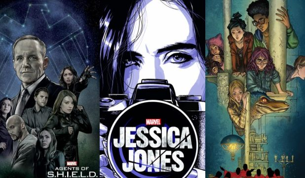 New York Comic Con Posters for Agents of SHIELD, Runaways, and More