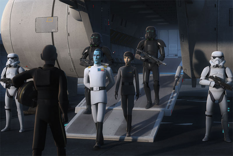 A Look at Star Wars Rebels' The Occupation & Flight of the Defender