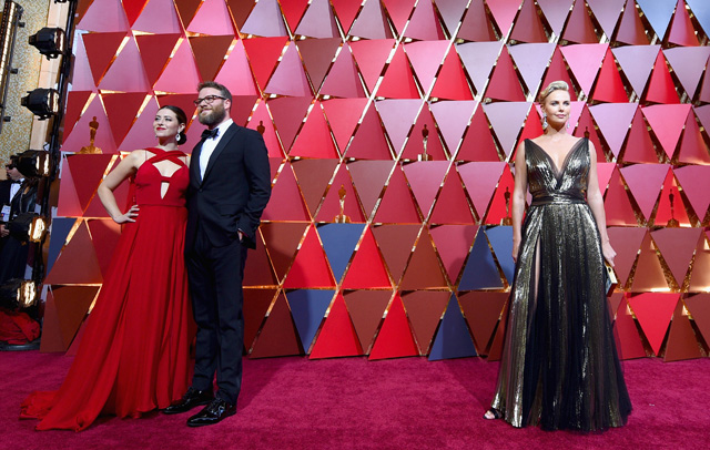 Flarsky, Starring Seth Rogen and Charlize Theron, Coming February 2019