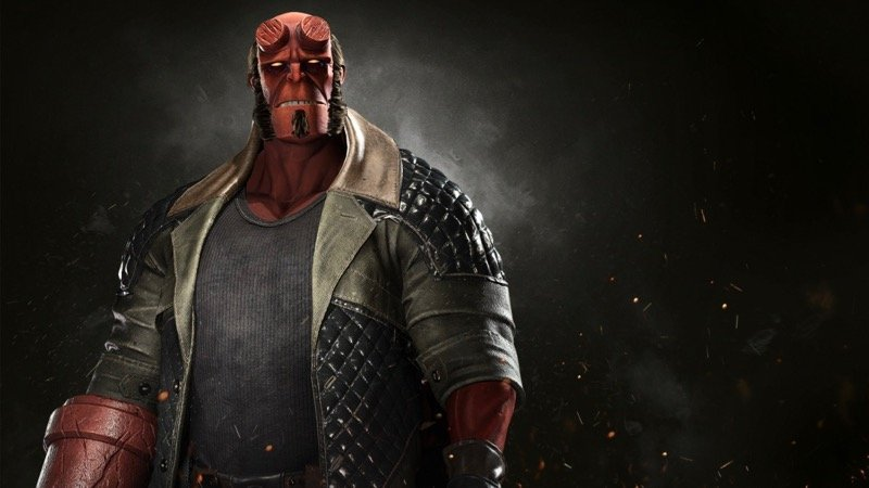 Hellboy Gameplay Trailer for Injustice 2 Revealed!