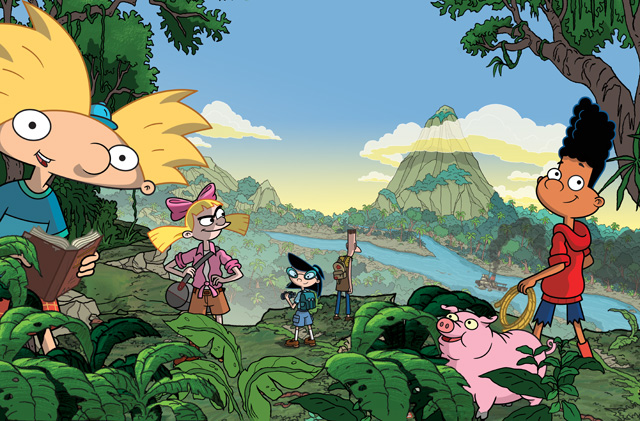 The Trailer and New Art for Hey Arnold!: The Jungle Movie