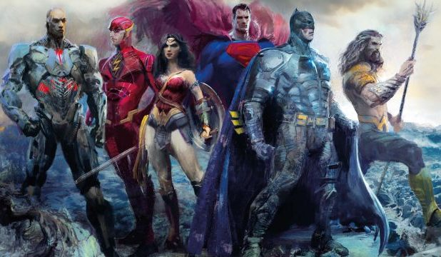 The Art of Justice League book cover revealed
