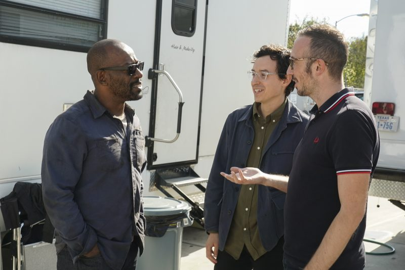 Check out new video and pics of Lennie James on the set of Fear the Walking Dead