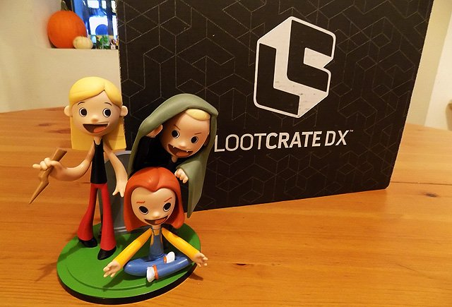 November Loot Crate DX Unboxing Featuring Buffy and More!