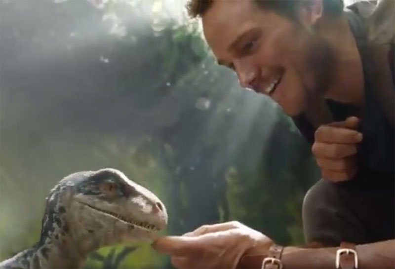 Jurassic World: Fallen Kingdom Trailer Tease With Chris Pratt