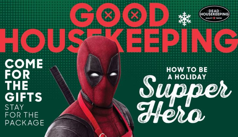 Deadpool 2 Lands on the Cover of Good Housekeeping (Yes, Really)