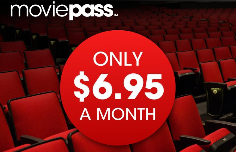 MoviePass Launches New One Year Plan for $6.95 Per Month