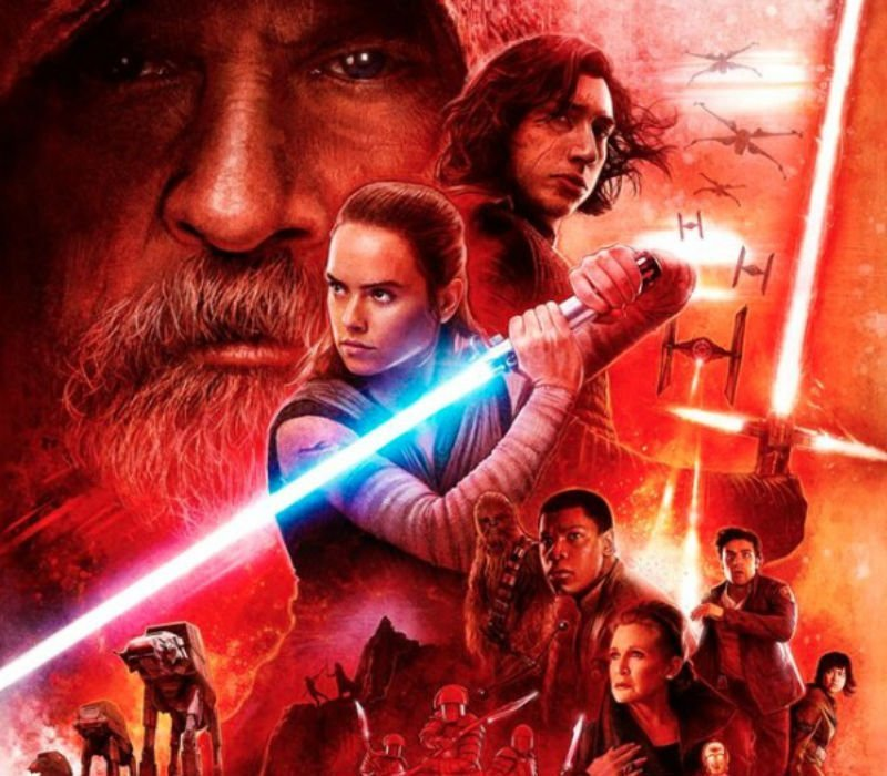 Check out the new Star Wars: The Last Jedi Dolby Cinema poster