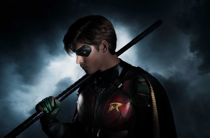 Check out Brenton Thwaites as Robin in DC's Titans