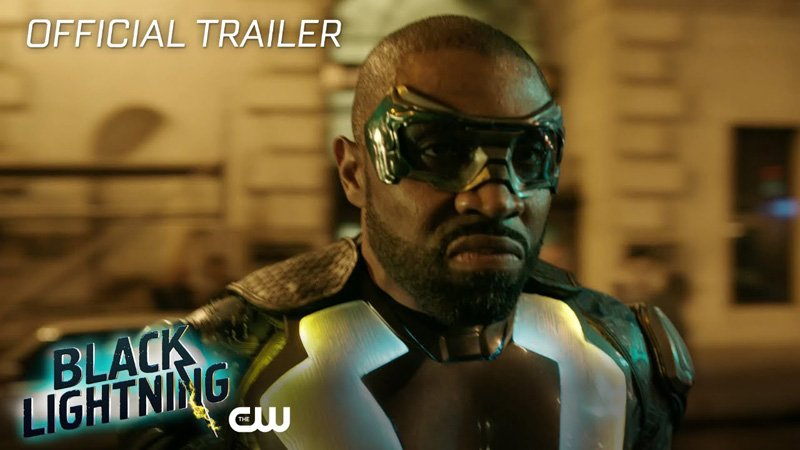 Black Lightning Trailer Released by The CW