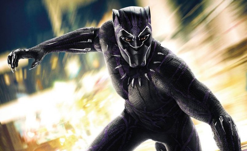 A New Black Panther International Poster Rides In