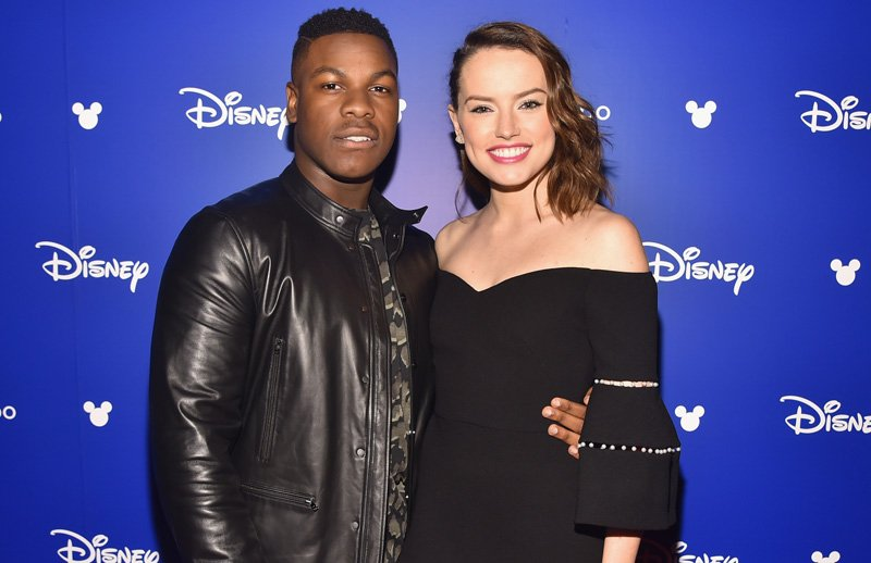 Video: Daisy Ridley and John Boyega on Star Wars: The Last Jedi