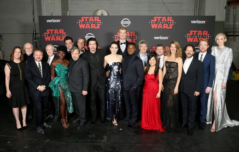 Star Wars: The Last Jedi First Reactions and World Premiere Photos
