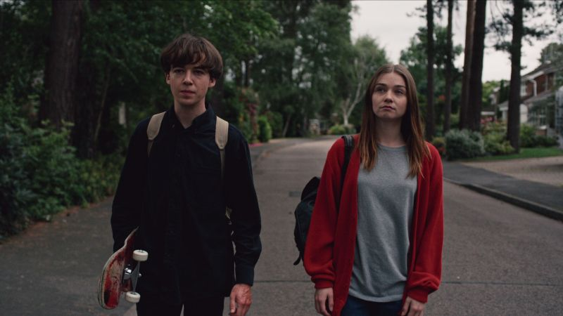 The End of the F***ing World Trailer: Netflix Delivers a Psychotic Romance
