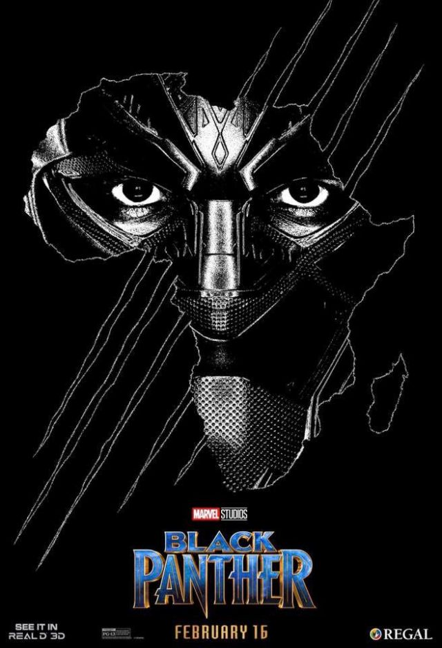 RealD Exclusive Black Panther Poster Revealed