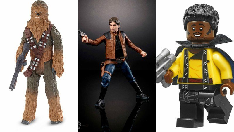 Solo Action Figures and LEGO Sets Take You to the Kessel Run & Beyond