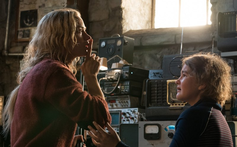 Don't Make a Sound While You Watch A Quiet Place Clips