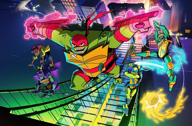 A Look at the Characters in Rise of the Teenage Mutant Ninja Turtles