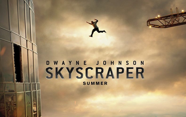 Dwayne Johnson in the Skyscraper Poster and Trailer Tease