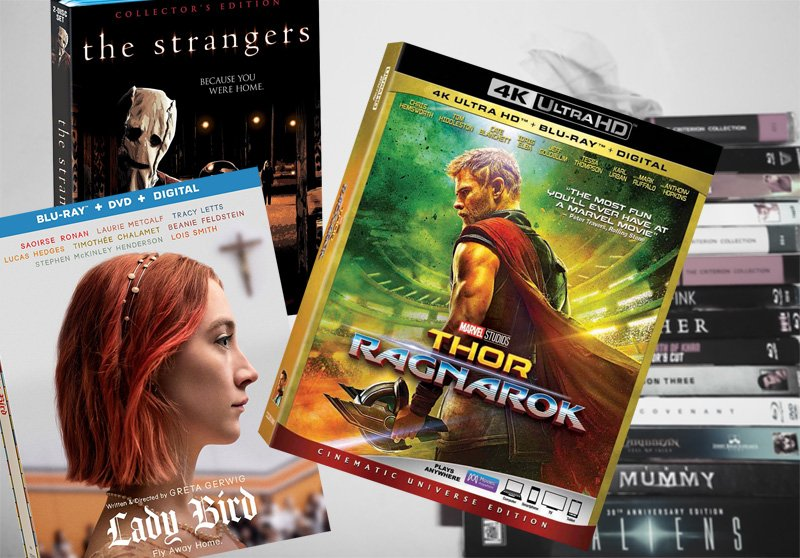 March 6 Digital, Blu-ray and DVD Releases