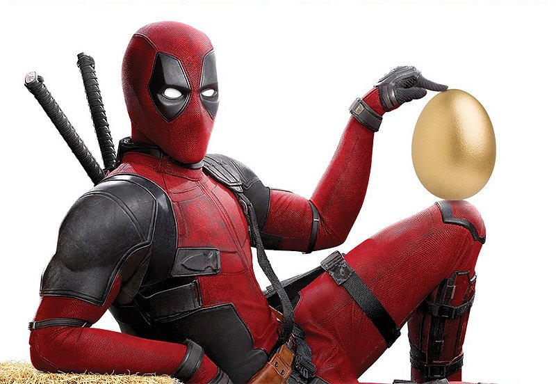 Check Out The Eggcellent New Deadpool 2 Easter Poster