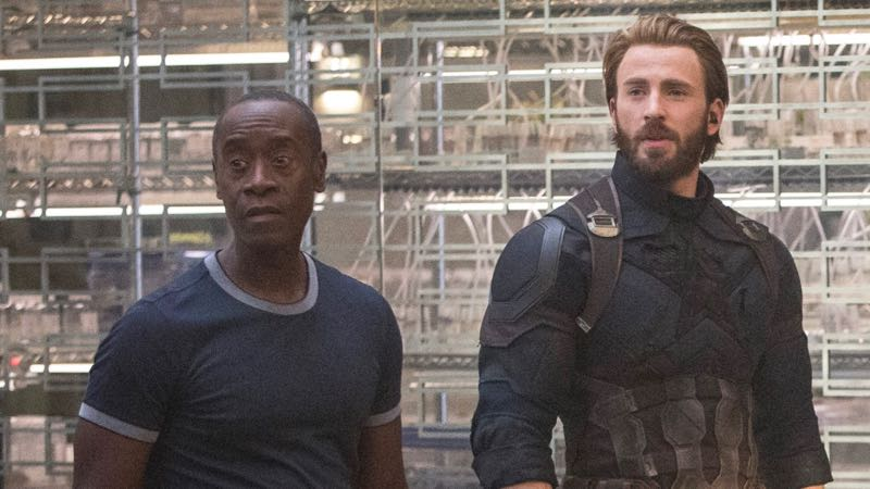 Don Cheadle on Rhodey's Recovery and Suiting Up for Infinity War
