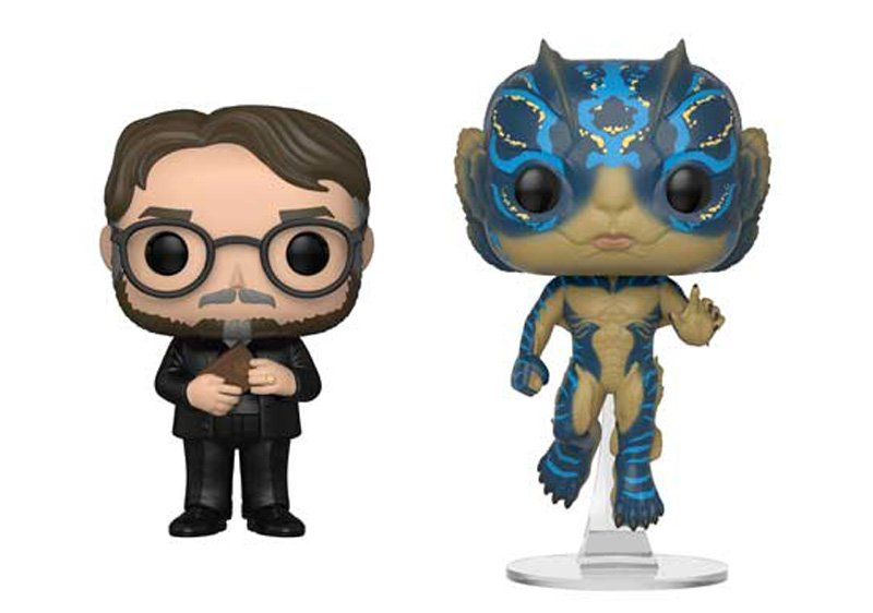 Guillermo del Toro and Shape of Water Funko Pops Revealed!