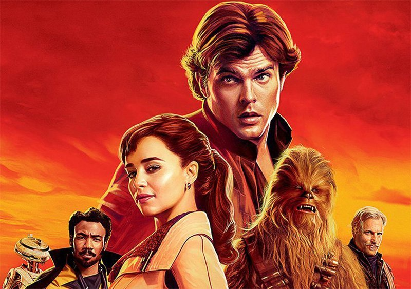 New International Solo Posters Smuggled Onto the Internet