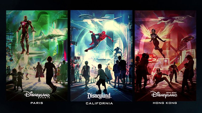 Avengers and Other Super Heroes to Assemble at Disney Parks Worldwide