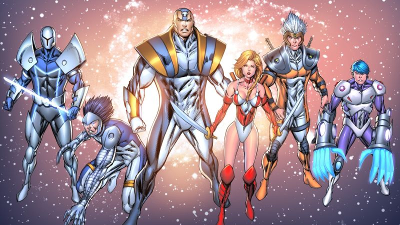 Rob Liefeld's Extreme Universe Headed to Netflix