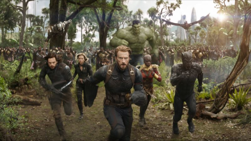 Coming Soon Visits the Set of Avengers: Infinity War!