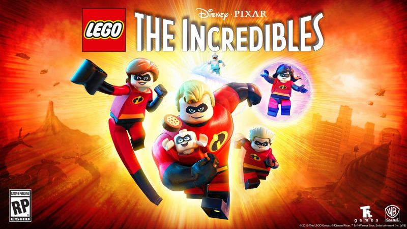 LEGO The Incredibles Video Game Announced!